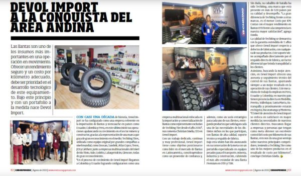 revista techking reportaje